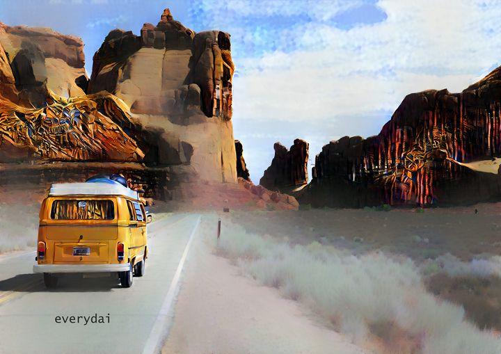 Into the Wanderlust - easy rocks - Everydai