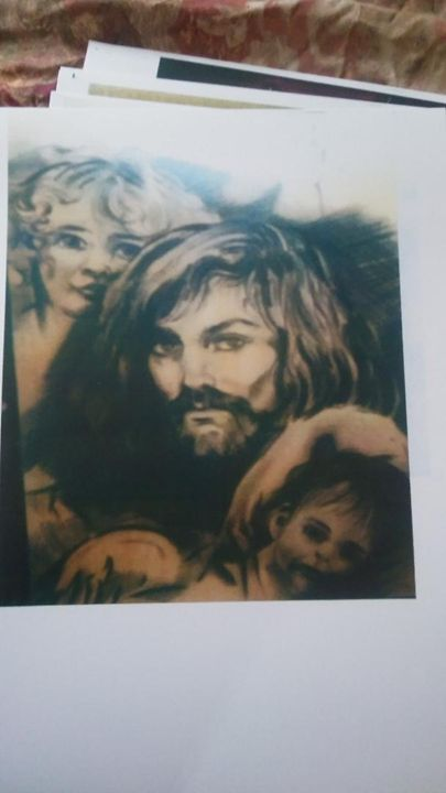 Jesus and Cherbs - bob kelly originals