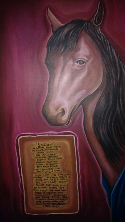 Seabiscuit - bob kelly originals