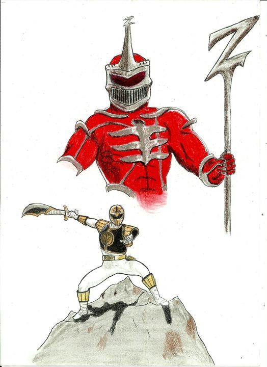 White Ranger vs Lord Zedd - Nemanja