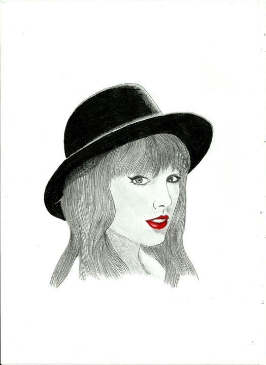 Taylor Swift - pencil drawing - Nemanja