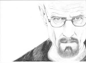 Walter White-pencil drawing