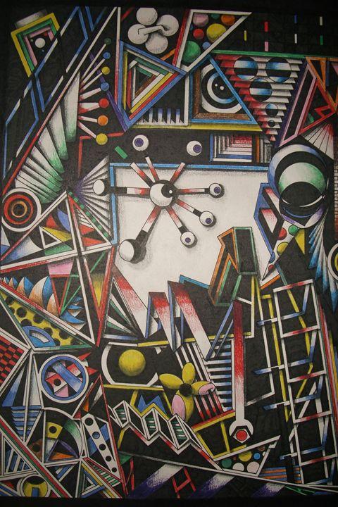 Metal Confusion - OyArt By Troy Tetschner