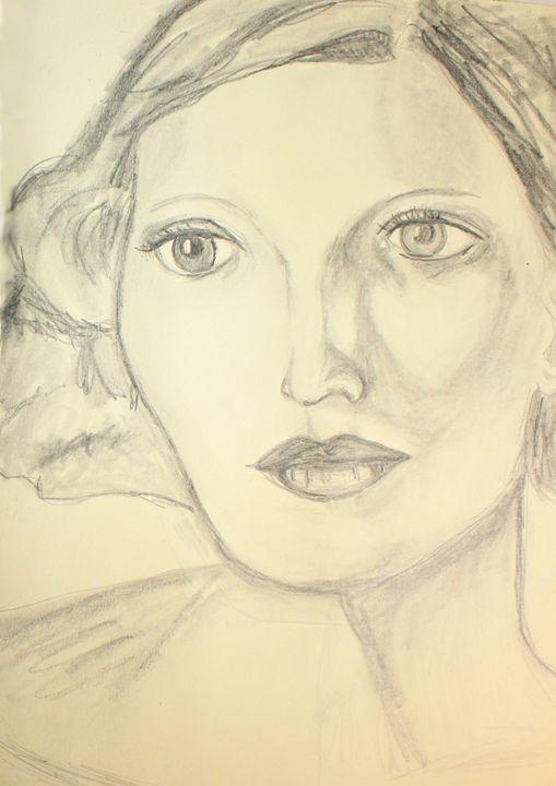 Looking Left - Heather Kindt Art