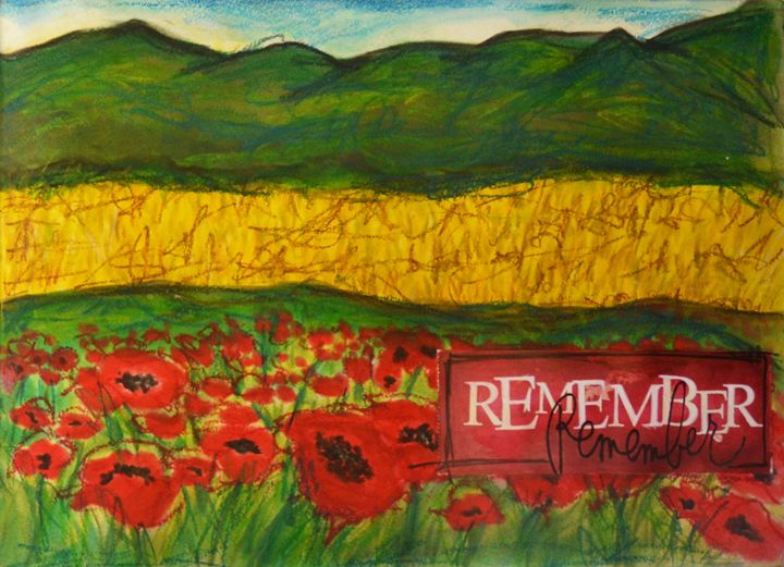 Poppy Field Right - Heather Kindt Art