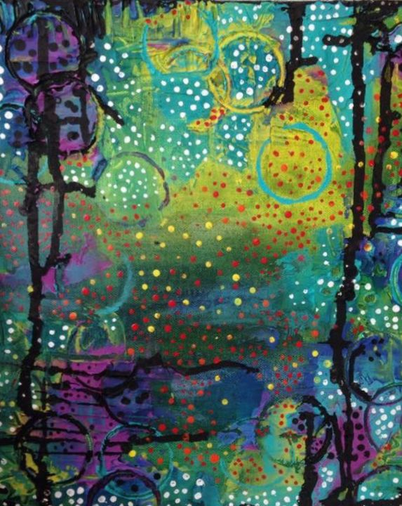 Drips and Dots - Heather Kindt Art