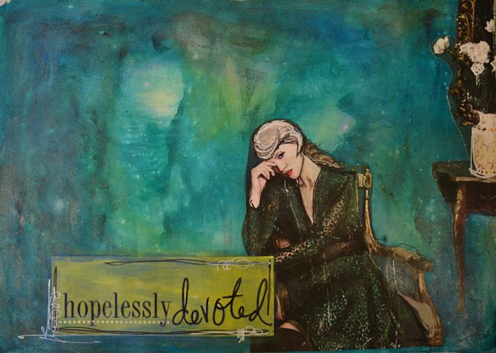 Hopelessly Devoted - Heather Kindt Art
