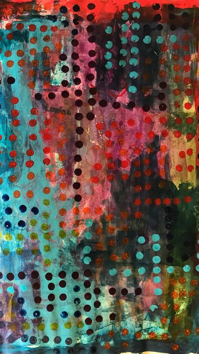 Contrast Dots - Heather Kindt Art