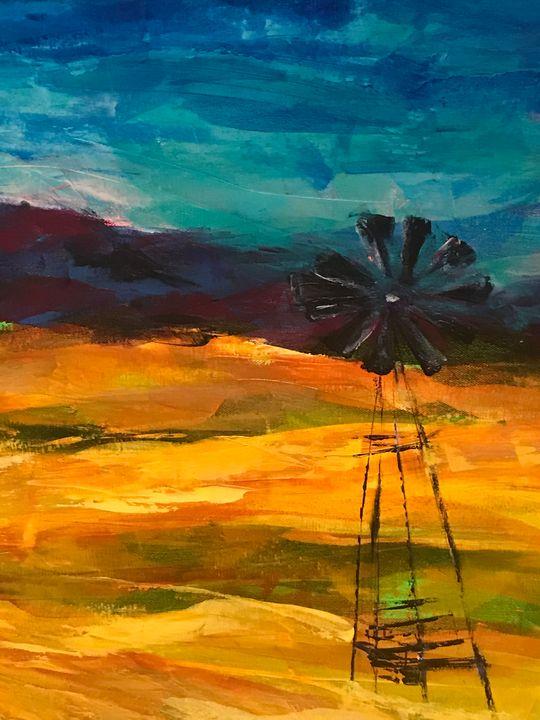 Windmill - Heather Kindt Art