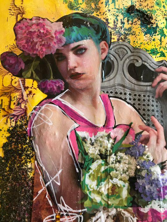 Flower Girl - Heather Kindt Art