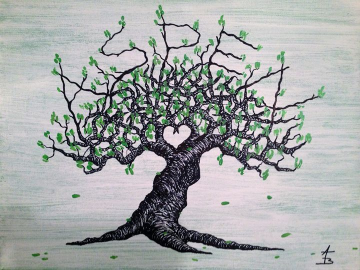 Aspen Love Tree - Love Tree Art Collection