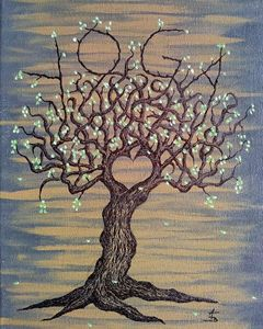 Yoga Love Tree