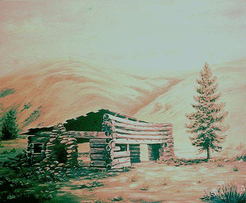 10 Spaulding Mission Cabin - Pruitt Gallery