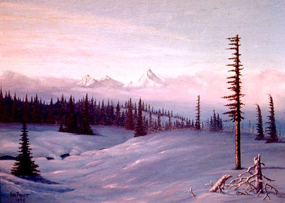 3 Cascade Dawn - Pruitt Gallery