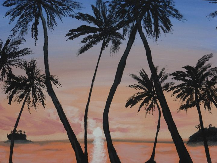 Another Beach Somewhere - Paintings by K. Scofield