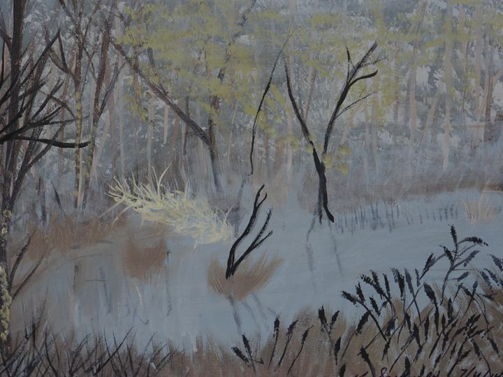 Swamp - Paintings by K. Scofield