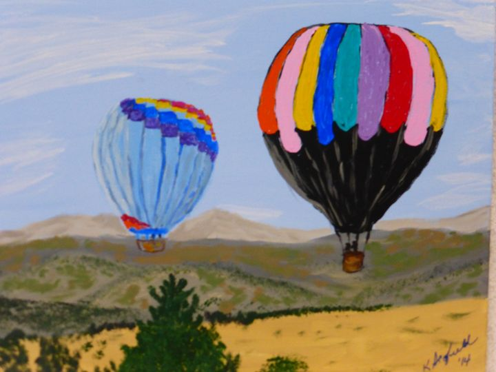 Reno Balloon Races - Paintings by K. Scofield