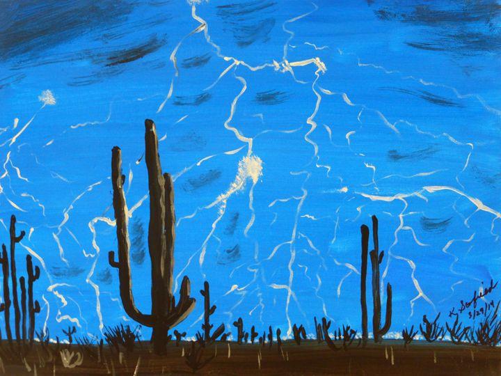 Desert Storm - Paintings by K. Scofield