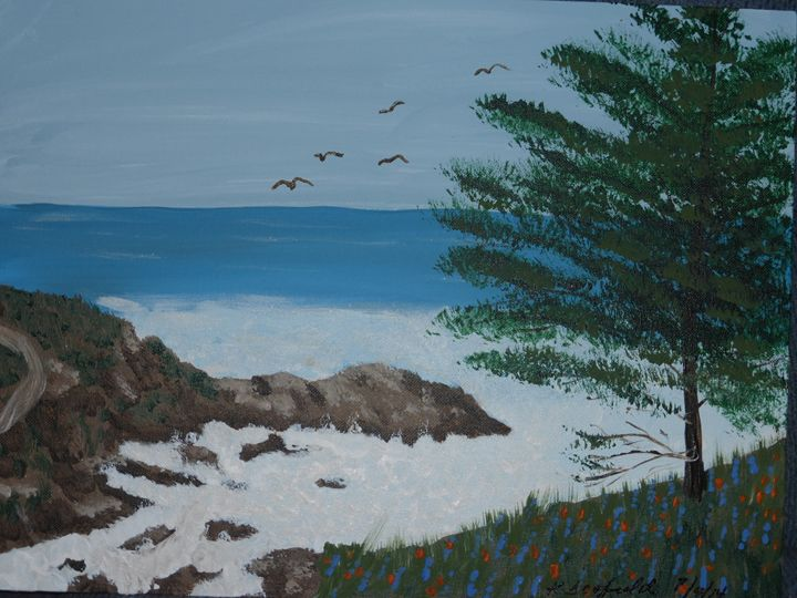Lover's Point - Paintings by K. Scofield