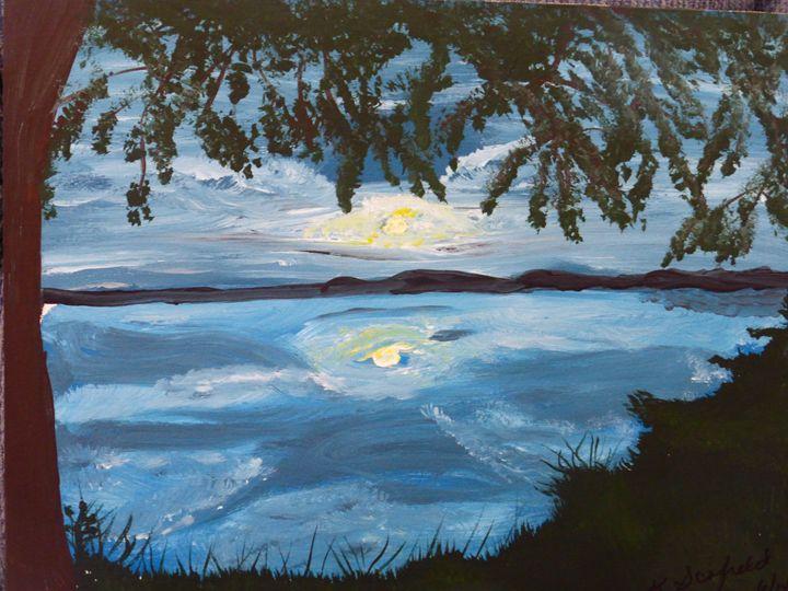 Moon Glow - Paintings by K. Scofield