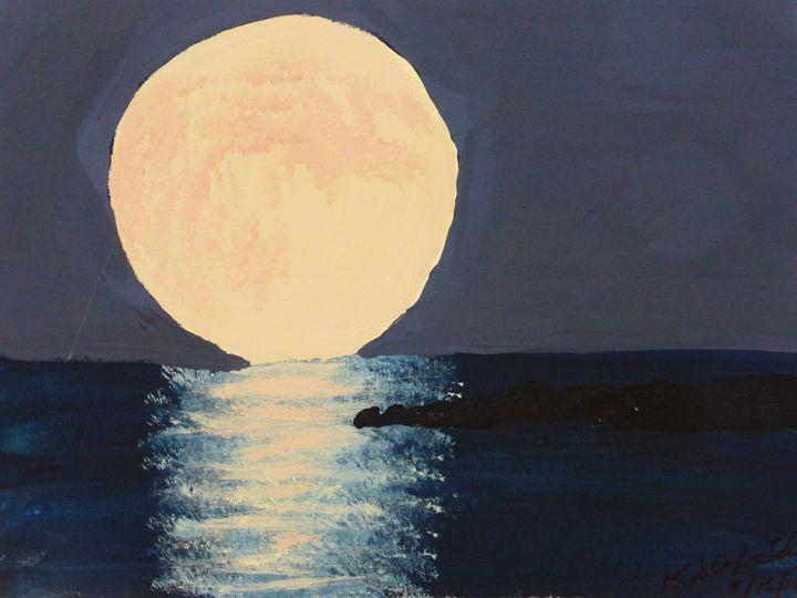 Moonrise - Paintings by K. Scofield