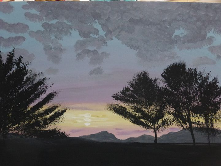 Night Time Comes - Paintings by K. Scofield