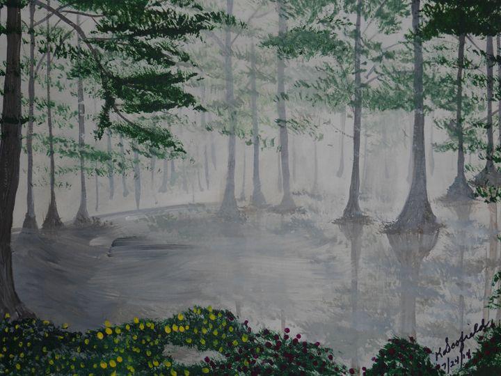 Swamp Garden - Paintings by K. Scofield