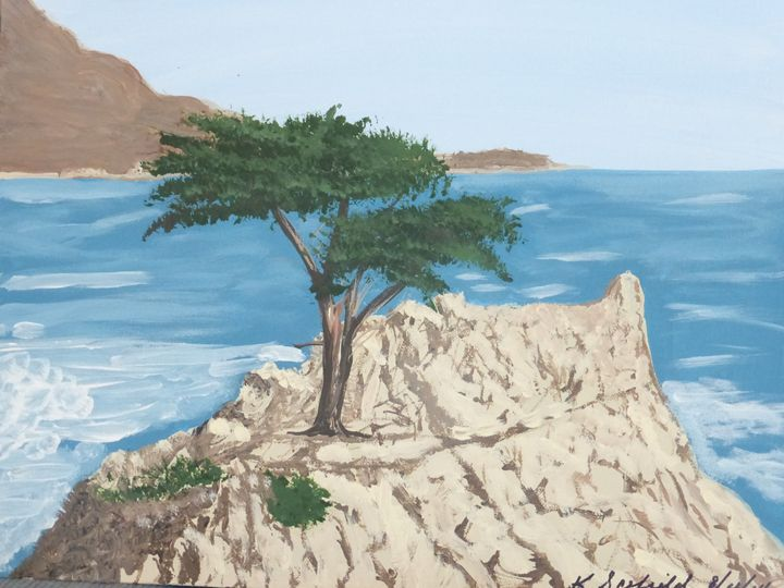 The Lone Cypress - Paintings by K. Scofield
