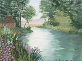 16x12 acrylic painting