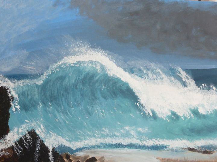 The Wave - Paintings by K. Scofield