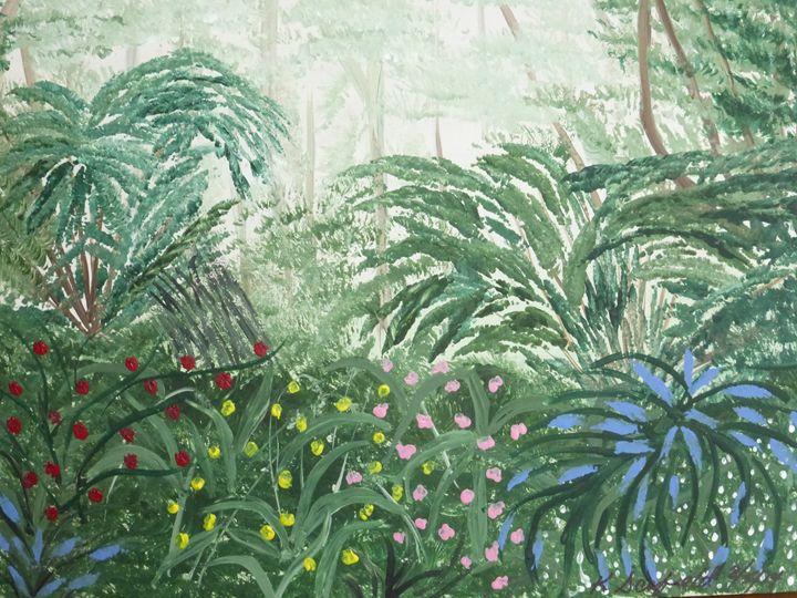 My Secret Jungle - Paintings by K. Scofield