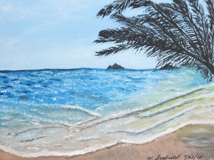 And Another Beach - Paintings by K. Scofield