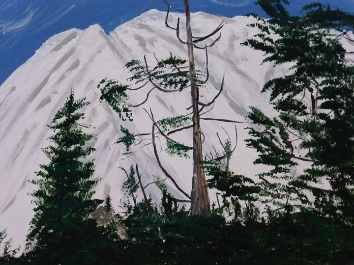 Mount Shasta - Paintings by K. Scofield
