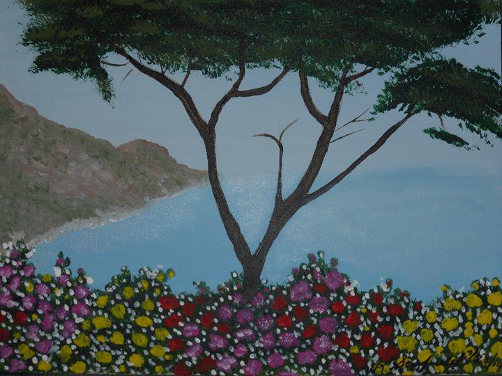 Big Sur #6 - Paintings by K. Scofield