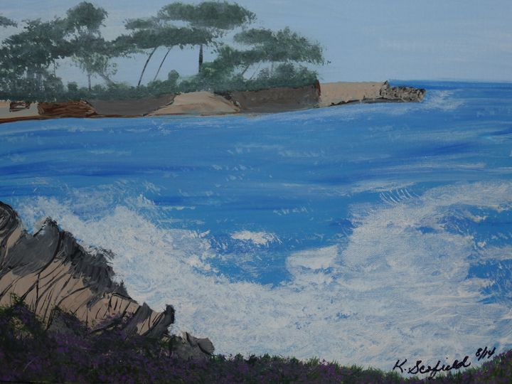 Lover's Point #4 - Paintings by K. Scofield