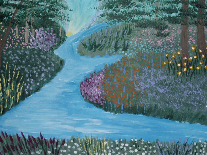 Peaceful River - Paintings by K. Scofield