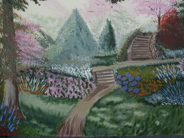The Stairs - Paintings by K. Scofield