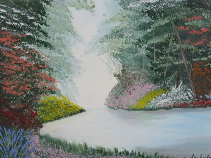 Bright Day - Paintings by K. Scofield