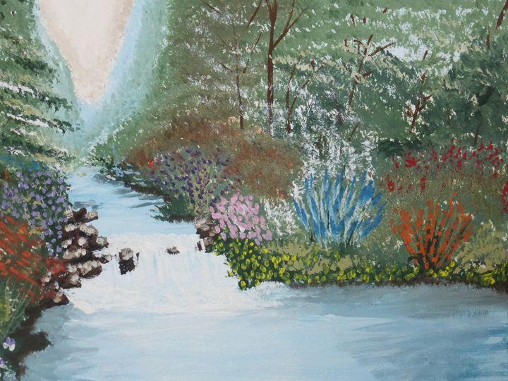 Serene - Paintings by K. Scofield