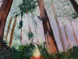 12 x 16 acrylic painting