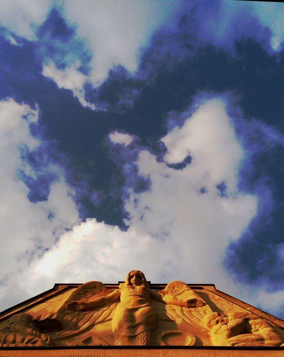Angle in  the   skies - EUGENE  JONAI
