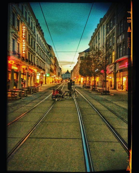 Berlinerstrasse Goerlitz - EUGENE  JONAI