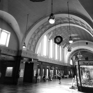 train station hall Arches