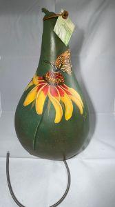 Hand painted original thunder drum. - Lois Originals