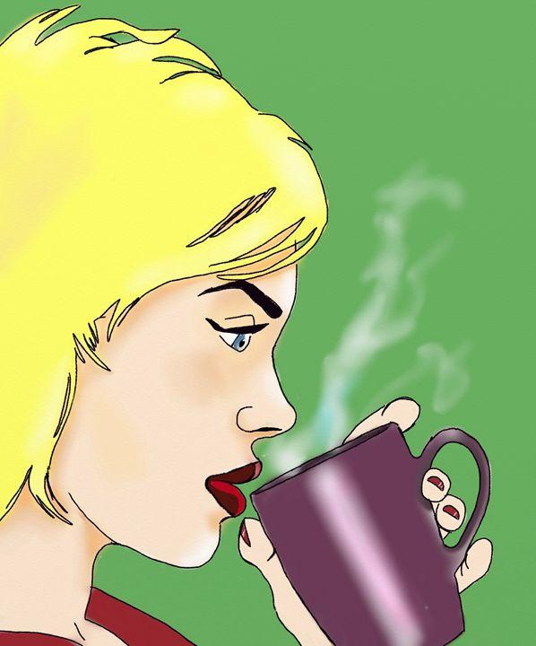 Coffee break - Helenbowmanart