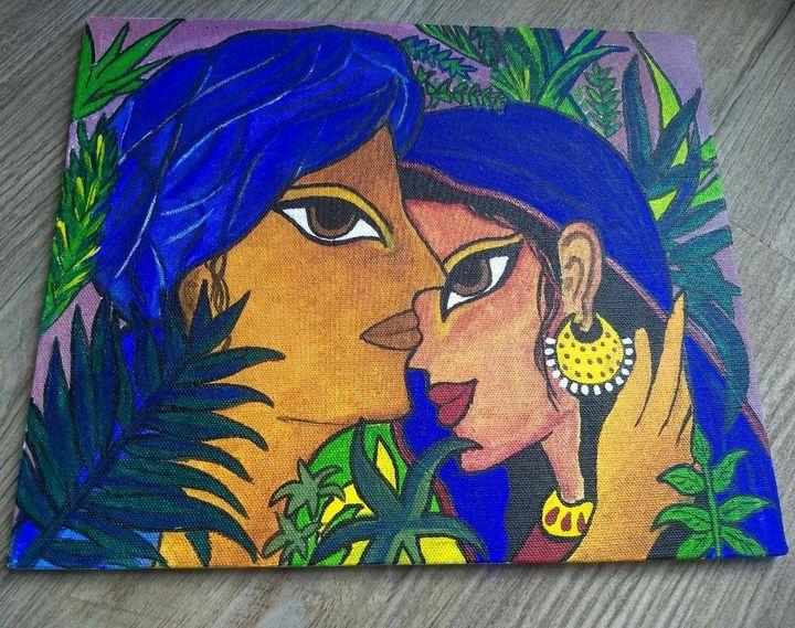 Radha&Krishna - The Lady's Canvas