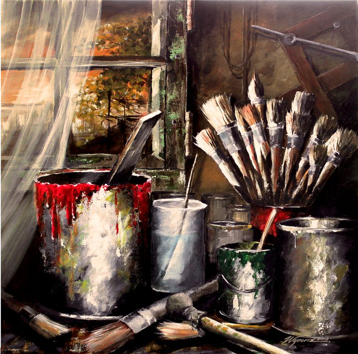 Tools of the Trade - Wynne Fine Art