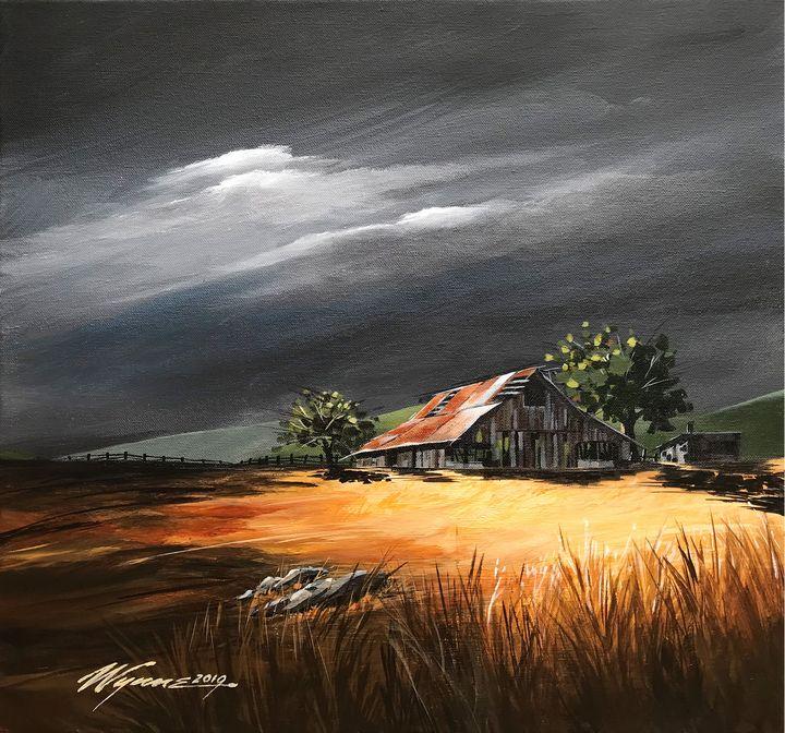 Storm Approaching - Wynne Fine Art