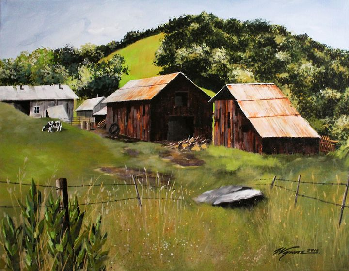 Road to Paso Robles - Wynne Fine Art