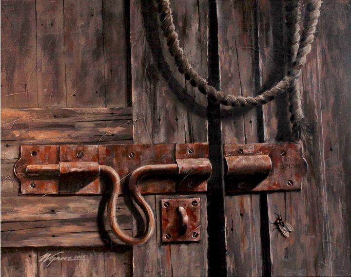 Study in Wood and Rust - Wynne Fine Art